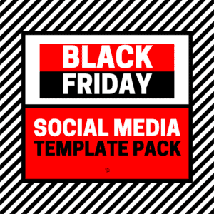 BLACK FRIDAY SOCIAL MEDIA TEMPALTES