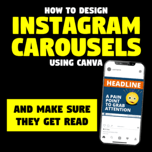 how to design instagram carousels